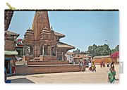 Another Hindu Temple N Bhaktapur Durbar Square In Bhaktapur -nepal Carry-all Pouch