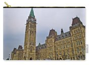 Another View Of Parliament Building In Ottawa-on Carry-all Pouch