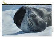 Antarctic Leopard Seal On Iceberg Carry-all Pouch