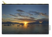Antarctica Sunset Carry-all Pouch
