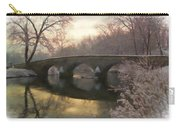 Anteitam Burnside Bridge In Spring Snow Carry-all Pouch
