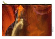 Antelope Canyon - Sand In The Light Carry-all Pouch