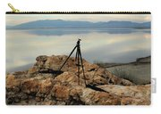 Antelope Island Sunset - 3 Carry-all Pouch