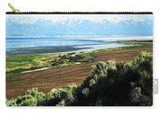 Antelope Island Wasatch Mountains Utah Carry-all Pouch