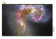 Antennae Galaxies Collide 1 Carry-all Pouch by Jennifer Rondinelli Reilly - Fine Art Photography