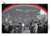 Anti-boxing Demonstrators The Great White Hope Set Globe Arizona 1969-2013 Carry-all Pouch