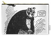 Anti-trust Cartoon, 1902 Carry-all Pouch
