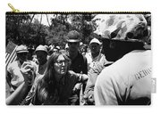 Anti-viet Nam War Protestor Confronting Smoking Marine Pro-war March Tucson Arizona 1970  Carry-all Pouch