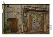 Antibes France Scene Paintings Dsc02278  Carry-all Pouch