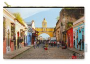 Antigua Guatemala Clock Carry-all Pouch
