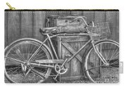Antiquated Bike Carry-all Pouch