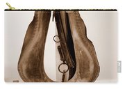 Antiquated Horse Collar In Sepia Carry-all Pouch