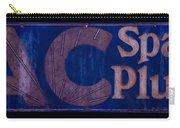 Antique Ac Spark Plug Sign Carry-all Pouch