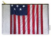 Antique American Flag Carry-all Pouch
