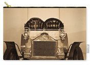 Antique Auto In Sepia Carry-all Pouch
