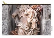Antique Blessed Virgin Statue Carry-all Pouch