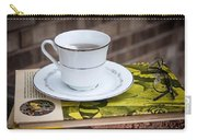 Antique Books And Tea Carry-all Pouch