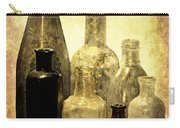 Antique Bottles From The Past Carry-all Pouch
