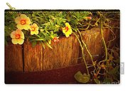 Antique Bucket With Yellow Flowers Carry-all Pouch