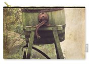 Antique Butter Churn Carry-all Pouch