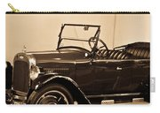 Antique Car In Sepia 1 Carry-all Pouch