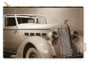 Antique Car In Sepia 2 Carry-all Pouch