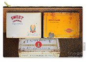 Antique Cigarette Boxes Carry-all Pouch