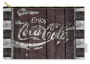 Antique Coca Cola Signs Carry-all Pouch