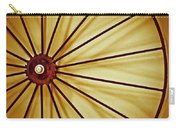 Antique Farm Wheel Carry-all Pouch by Carolyn Marshall