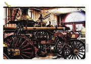 Antique Fire Engine Carry-all Pouch