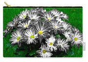 Antique Flowers Carry-all Pouch