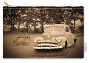 Antique Ford Car Sepia 2 Carry-all Pouch