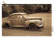 Antique Ford Car Sepia 4 Carry-all Pouch