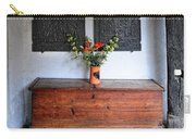 Antique French Chest Carry-all Pouch