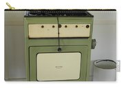 Antique Green Stove And Pressure Cooker Carry-all Pouch