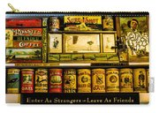 Antique Grocery Shelf Carry-all Pouch
