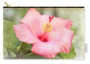 Antique Hibiscus Carry-all Pouch