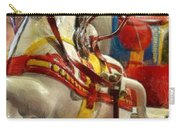 Antique Horse Cart Carry-all Pouch by Michelle Calkins