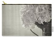 Antique Hydrangea Carry-all Pouch