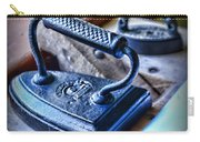 Antique Iron Carry-all Pouch