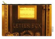 Antique Letter Box At The Brown Palace Hotel Carry-all Pouch