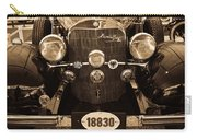 Antique Mercedes Benz In Sepia Carry-all Pouch