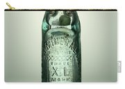 Antique Mineral Glass Bottle Carry-all Pouch