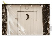 Antique Outhouse Carry-all Pouch