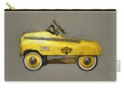 Antique Pedal Car Lll Carry-all Pouch by Michelle Calkins