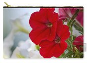 Antique Petunia Flowers Carry-all Pouch