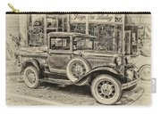 Antique Pickup Truck Carry-all Pouch