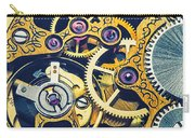 Antique Pocket Watch Gears Carry-all Pouch by Garry Gay