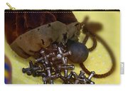 Antique Pouch Of Ball And Jacks Game Art Prints Carry-all Pouch