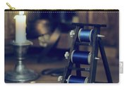 Antique Sewing Items Carry-all Pouch by Amanda Elwell